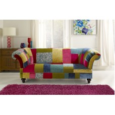 Patchwork Chesterfield  Sofa